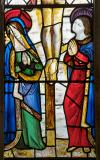 The Virgin Mary and St John: The Crucifixion with the Virgin Mary and St John