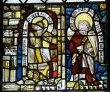Apostles: The Crucifixion with Panels from the Seven Sacraments