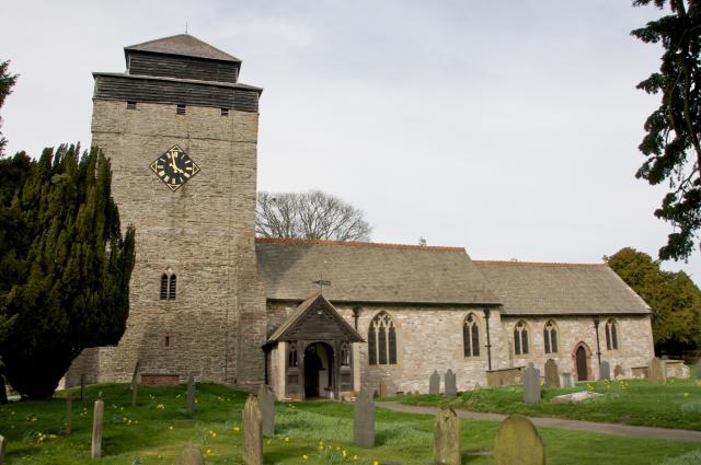 Church of St Michael, Kerry, Powys Ceri_DSC1595A.jpg Photo © Martin Crampin