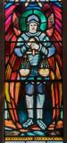 St Michael: Christ in Majesty with St Michael and Angels
