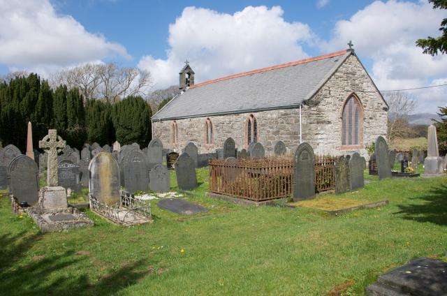 Church of St Michael, Ynys, Gwynedd LlyTraethau_DSC1658A.jpg Photo © Martin Crampin