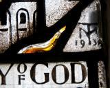 Artist's Monogram: St Michael Overcoming the Dragon