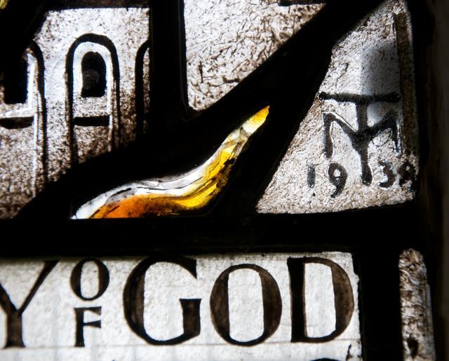 Artist's Monogram    from    St Michael Overcoming the Dragon