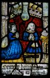 Meurig ap Llywelyn ap Hwlcyn and Marged ferch Ifan Fychan: The Crucifixion with the Virgin Mary and St John
