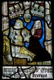 Owain ap Meurig and Elin ferch Robert: The Crucifixion with the Virgin Mary and St John