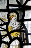 Christ-child: Medieval Fragments including the Holy Trinity