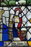 St Rhychwyn: The Crucifixion with the Virgin Mary and St John