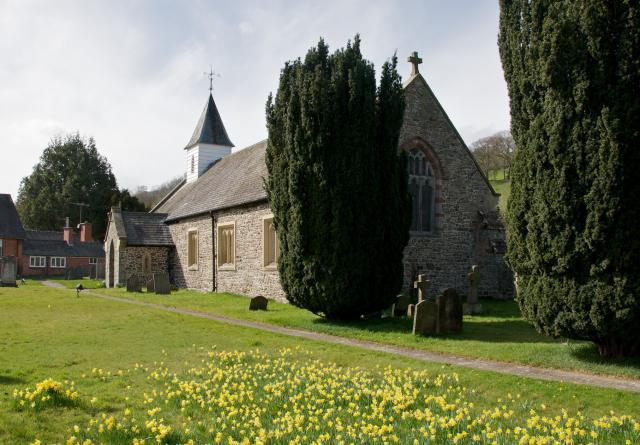 Church of St Michael, Manafon, Powys Manafon_DSC1509A.jpg Photo © Martin Crampin
