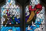 Christ Calming the Storm: Christ Calming the Storm with St Seiriol and St Cybi