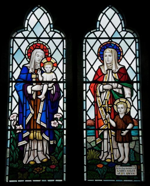 Virgin and Child, St Elizabeth and St John the Baptist