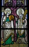 St Catherine and a Bishop