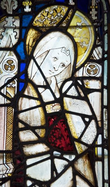 St Anne    detail from    Medieval Fragments