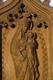 Virgin and Child: The Virgin and Child with Annunciation, Visitation, Baptism of Christ and Resurrection
