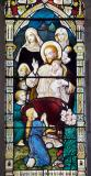 Christ with Children brought by their Mothers: The Baptism of Christ and Christ with Children