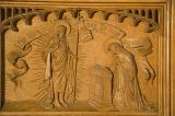 The Risen Christ appears to His Mother: The Virgin and Child with Annunciation, Visitation, Baptism of Christ and Resurrection
