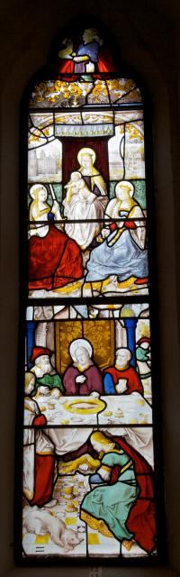 The Mystic Marriage of St Catherine and Christ in the House of a Pharisee
