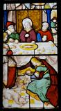 Christ's Feet are Anointed at the House of a Pharisee: The Mystic Marriage of St Catherine and Christ in the House of a Pharisee