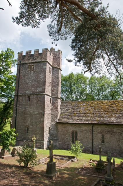 Church of St Jerome, Llangwm, Monmouthshire LlangwmUchaf_DSC6756.jpg Photo © Martin Crampin