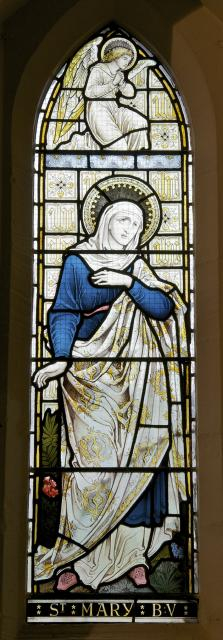 Virgin Mary    from    The Crucifixion, Resurrection and Ascension