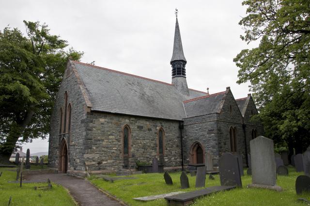 Church of St Gwynan, Dwygyfylchi, Conwy Dwygyfylchi_DSC3553A.jpg Photo © Martin Crampin