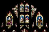 Tracery Lights: Come unto Me all ye that labour and are heavy laden and I will give you rest