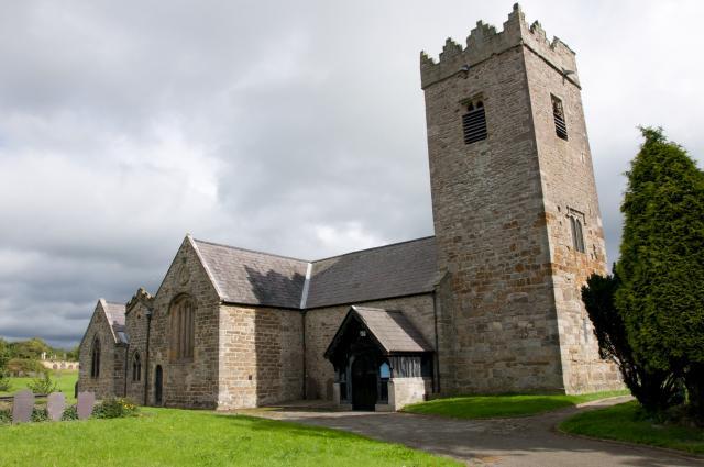 Church of St Peblig, Caernarfon, Gwynedd Llanbeblig_DSC8803.jpg Photo © Martin Crampin