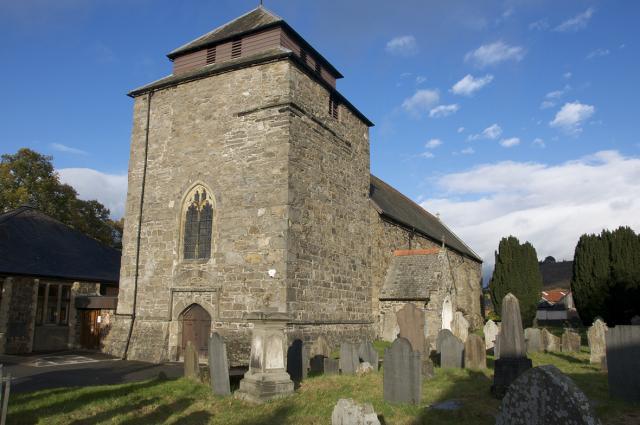 Church of St Idloes, Llanidloes, Powys Llanidloes_DSC0105A.jpg Photo © Martin Crampin