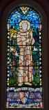 St Francis: St Francis and St Bernard