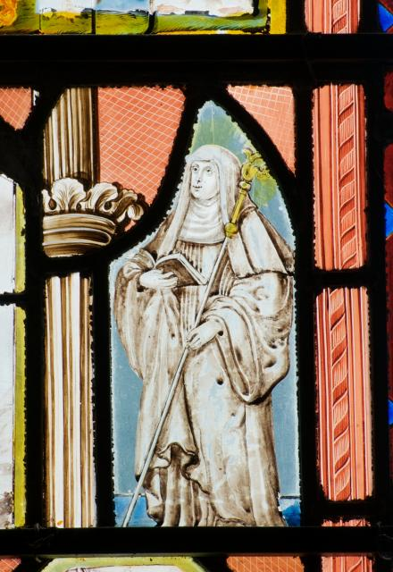 Standing Figure of a Nun    detail from    Various Scenes