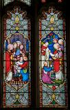 Christ Healing Jairus' Daughter and Christ Blessing Children: Scenes from the Life of Christ