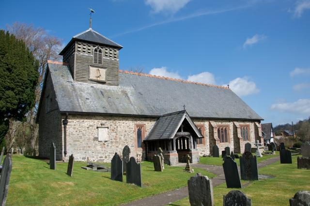 Church of St Cynon, Tregynon, Powys Tregynon_DSC1460A.jpg Photo © Martin Crampin