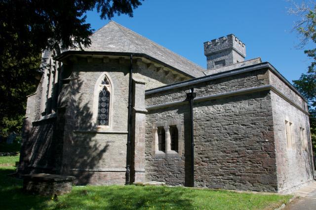 Church of St Michael, Cwmystwyth, Ceredigion Hafod_DSC2500A.jpg Photo © Martin Crampin