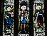 St George with St Gabriel and St Uriel