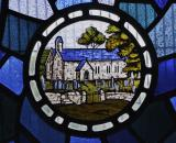 Church of St Michael, Llanfihangel-ar-Arth: Christ the Good Shepherd