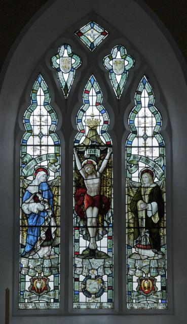 The Crucifixion with the Virgin Mary and St John