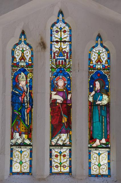 Christ with St David and St Tydecho