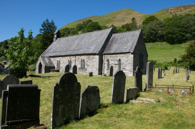 Church of St Tydecho, Llanymawddwy, Gwynedd Llanymawddwy_DSC3799A.jpg Photo © Martin Crampin