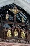 The Crucifixion with Christ in Majesty