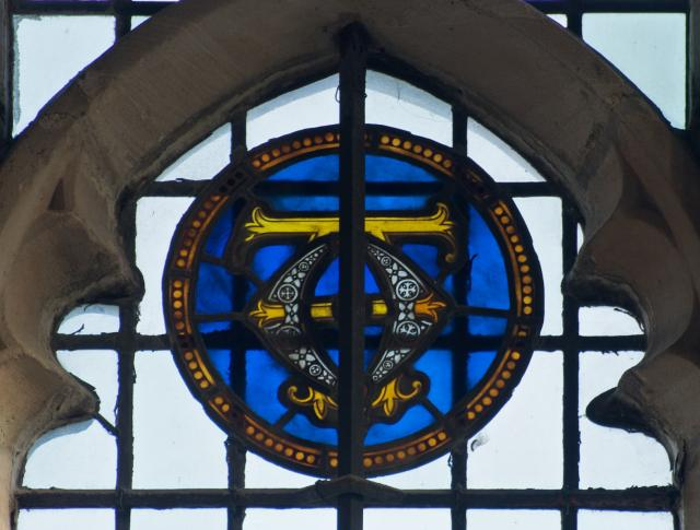 Alpha and Omega    detail from    Christian Symbols