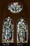 St Matthew the Evangelist and St Mark the Evangelist: The Four Evangelists with Saints and Angels