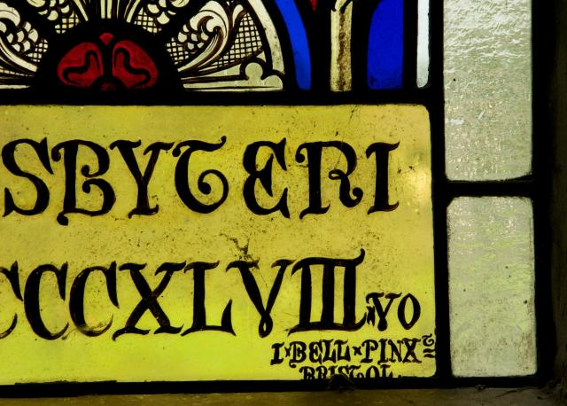 Signature    from    The Crucifixion with the Virgin and Child and the Risen Christ