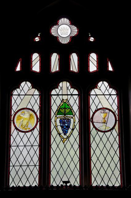 The Eucharist with Symbols of St John