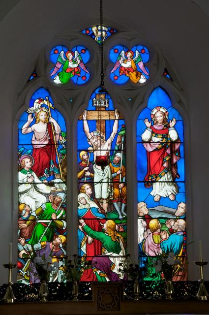 The Crucifixion, Resurrection and Ascension