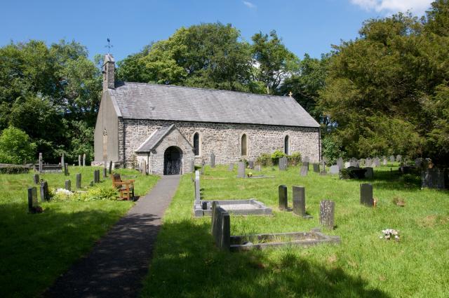 Church of St Tydecho, Cemmaes, Powys Cemaes_DSC3919A.jpg Photo © Martin Crampin