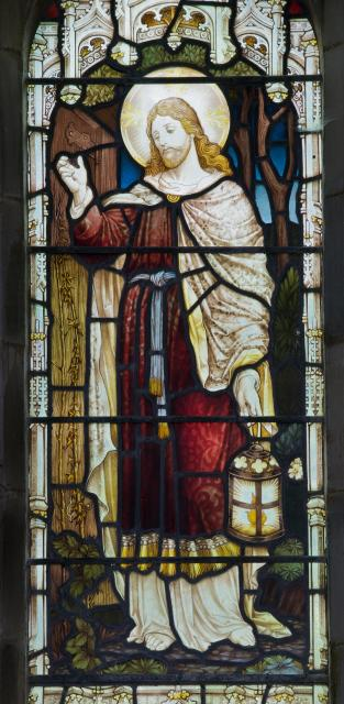 Christ the Light of the World    detail from    Christ the Good Shepherd and Christ the Light of the World
