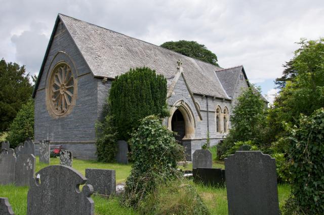 Church of St Cadfarch, Penegoes, Powys Penegoes_DSC4650A.jpg Photo © Martin Crampin