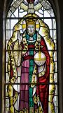 Figure of Christ: Christ with St Non and St David