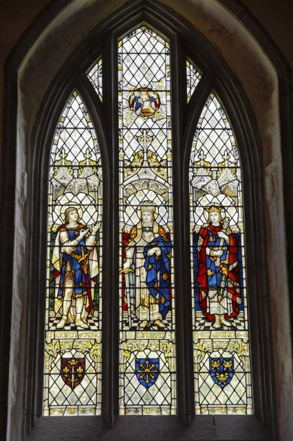 St Joan of Arc, St Martin and St Edmund