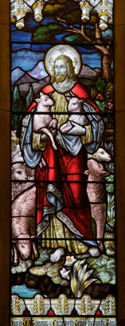 Christ the Good Shepherd with Angels