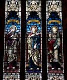 The Virgin Mary with St Mary Cleophas and St John the Divine